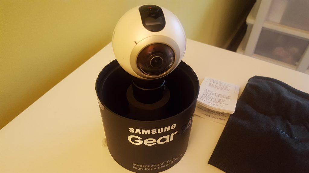 gear 360 camera hands on
