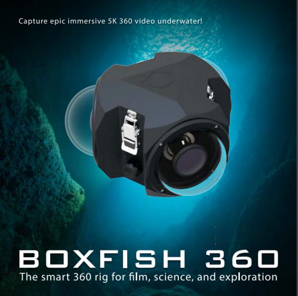 Boxfish Professional Underwater 360 Camera