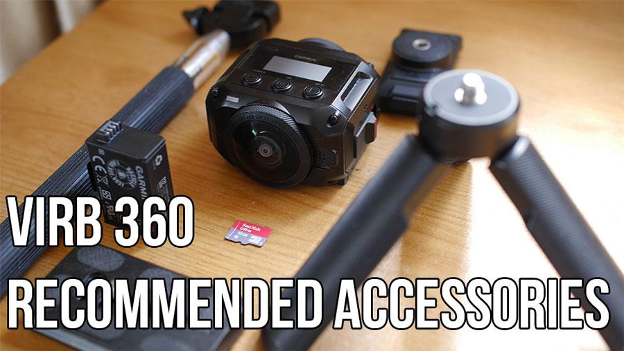 the must have garmin virb 360 accessories 360 camera reviews and rh threesixtycameras com Garmin Nuvi 360 360 Garmin Updates