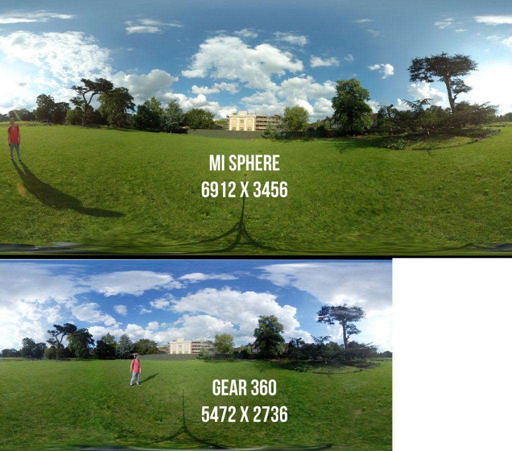 Mi Sphere vs Gear 360