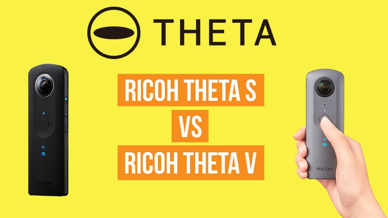 ricoh theta v vs ricoh theta s how big is the upgrade 360