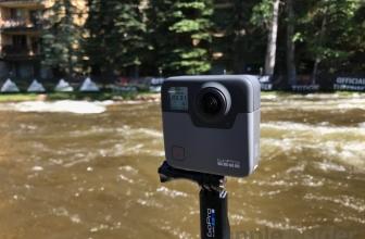 GoPro Fusion 360 Video Footage Reveled