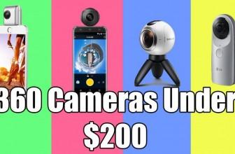The BEST 360 Cameras under $200