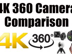 4K 360 Camera Comparison – Gear 360 vs Nikon Keymission 360 vs 360Fly 4K vs Insta360 4K