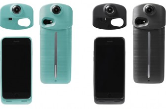 Ion360 U – A 4K 360 camera and smartphone charging case