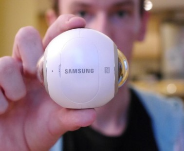 Samsung Gear 360 Hands On Review