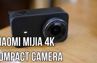 Xiaomi Mijia 4K Compact Camera: Specs, Example Video & First Impressions