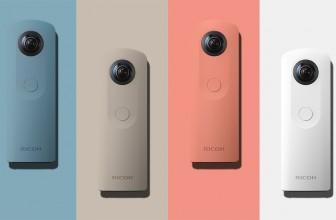 New Camera from Ricoh – The Theta SC 360 Camera