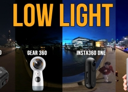 Which 360 camera works best in low light? Let's find out!