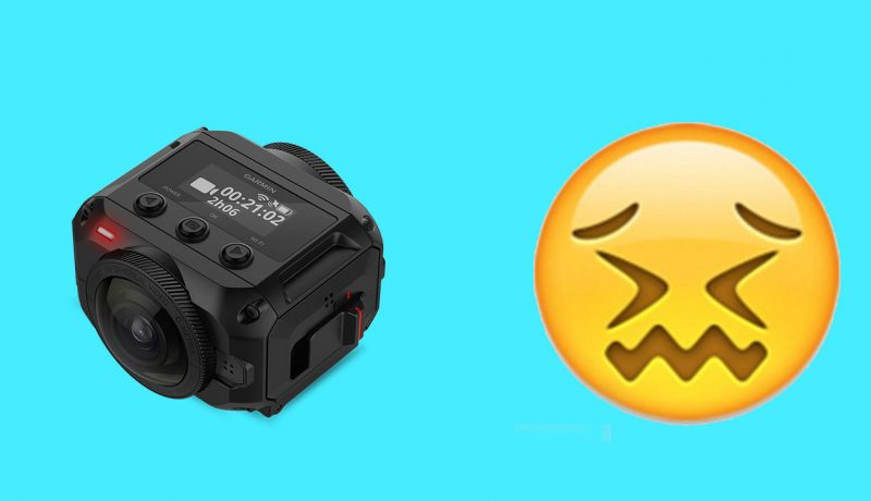 5 problems I have with the Garmin VIRB 360