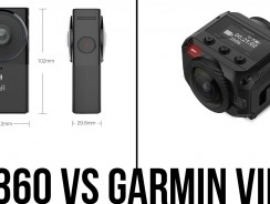 Garmin VIRB 360 vs Yi 360 VR – Best 5.7K 360 Camera