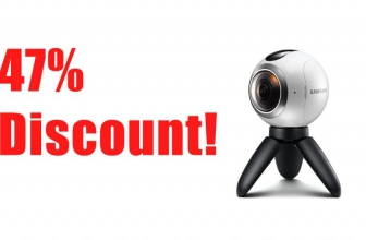 HUGE DISCOUNT on Samsung Gear 360 (2016) at Amazon