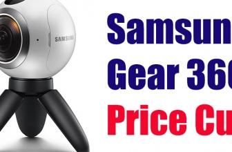 Samsung Gear 360 Price Cut Makes it $50 Cheaper