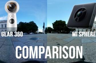 Xiaomi Mi Sphere vs Gear 360 2017: 360 Camera Comparison