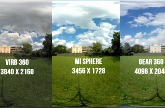 Mi Sphere vs VIRB 360 vs Gear 360: Video and Photo Comparison