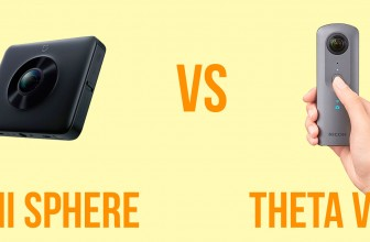 Ricoh Theta V vs Xiaomi Mijia Mi Sphere: Photo & Video Comparison