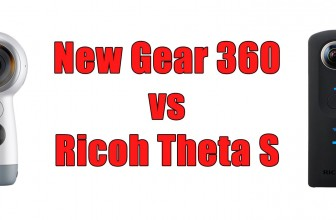 New Samsung Gear 360 (2017) Vs Ricoh Theta S – Comparison Table