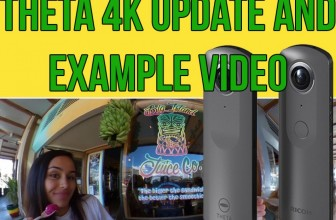 Ricoh Theta 4K Update: New example video, official name and specifications