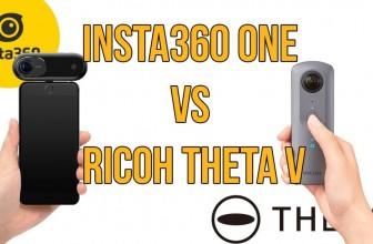 Insta360 ONE vs Ricoh Theta V: Battle of the Brand New 360 Cameras