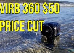 Garmin VIRB 360 $50 Price Cut