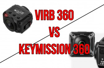 Garmin VIRB 360 vs Nikon Keymission 360 – Specs Compared