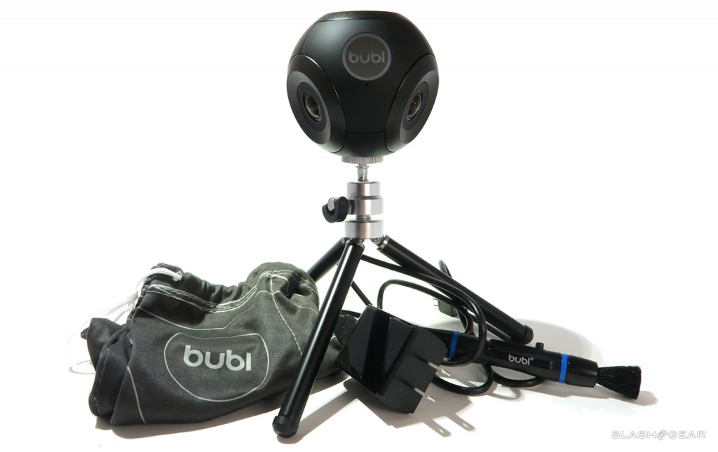 bublcam with tripod