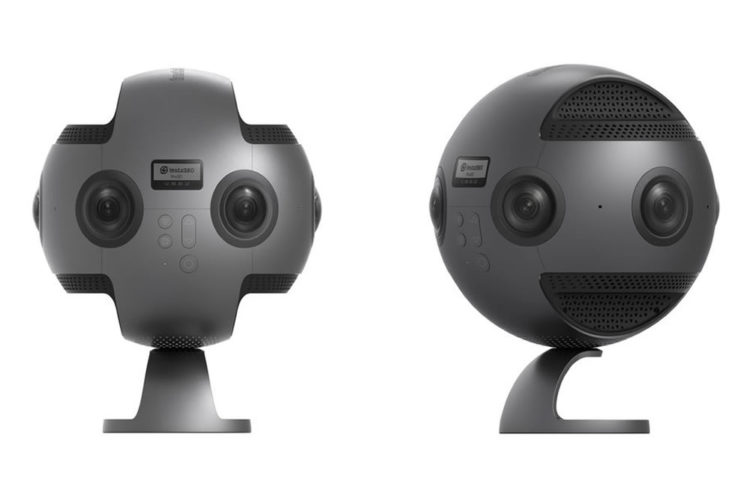 insta360 pro can shoot 8k video 3d livestream best 360 camera yet. Black Bedroom Furniture Sets. Home Design Ideas