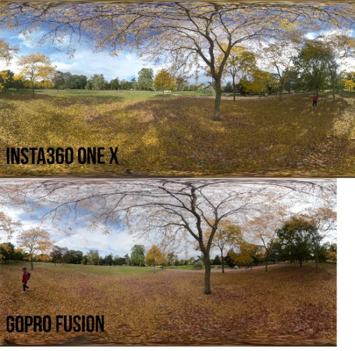 Insta360 One X vs GoPro Fusion: Which is the better 360 camera?