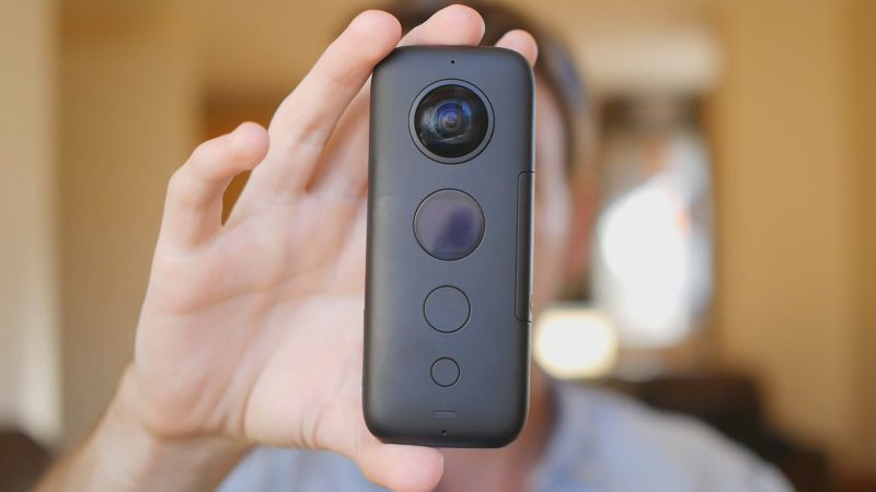 Insta360 One X with FREE Invisible Selfie Stick