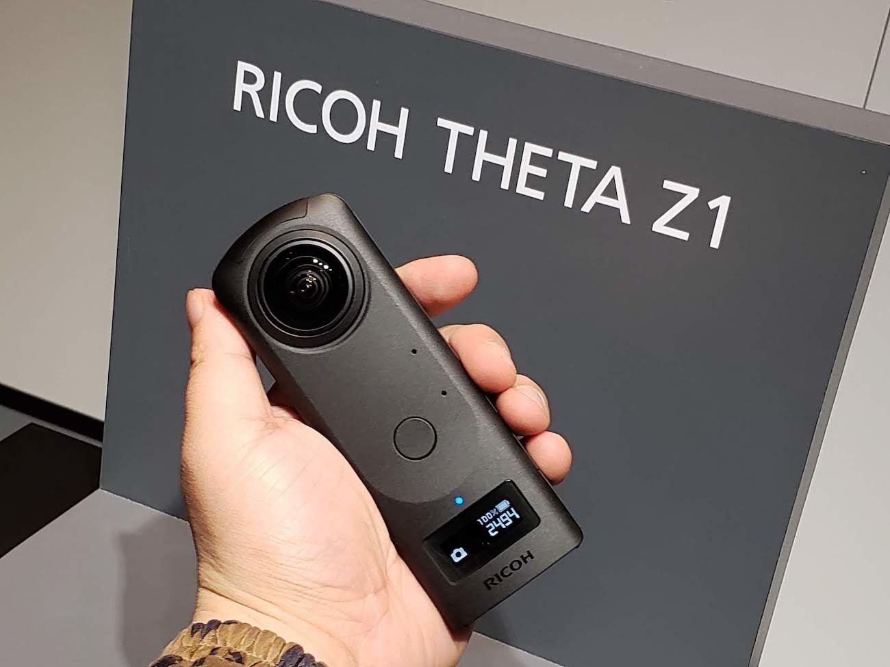 Ricoh Theta Z1: Specs, Example Images & Price - 360° Camera Reviews