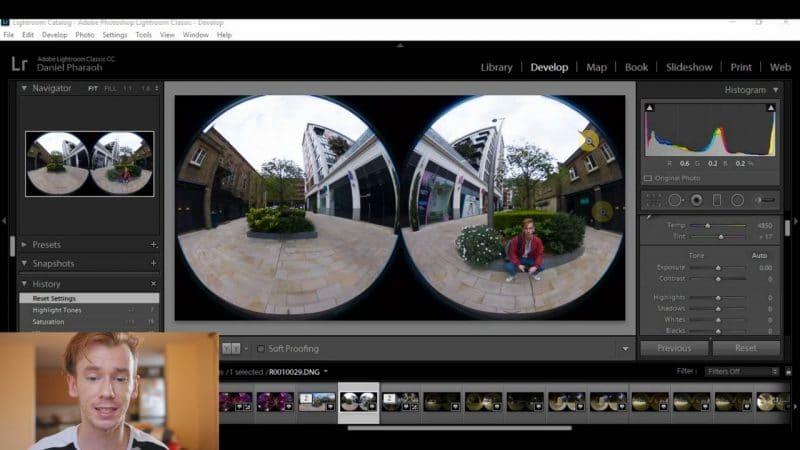 Ricoh Theta Stitcher and Lightroom Tutorial - 360° Camera Reviews