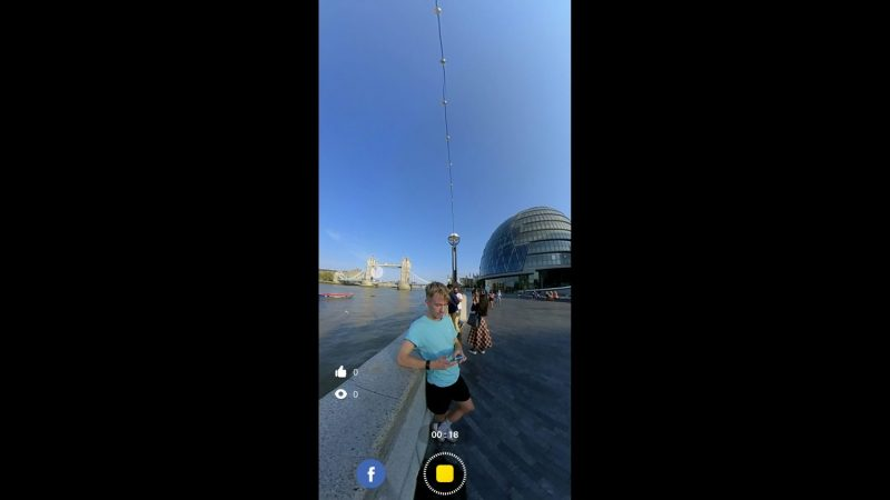 insta360 one r livesteam