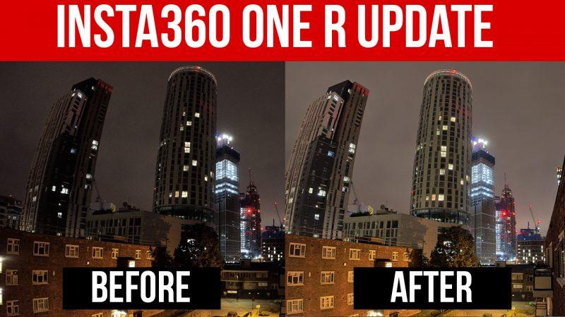 insta360 one r update