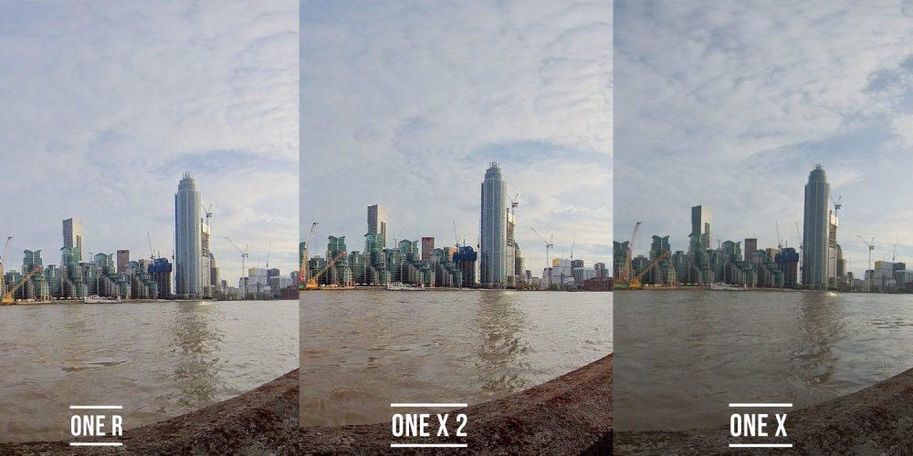 one x2 vs one r vs one x