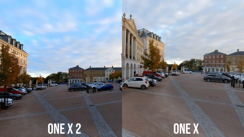 one x2 vs one x