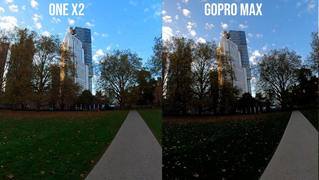 gopro max vs insta360 one x2