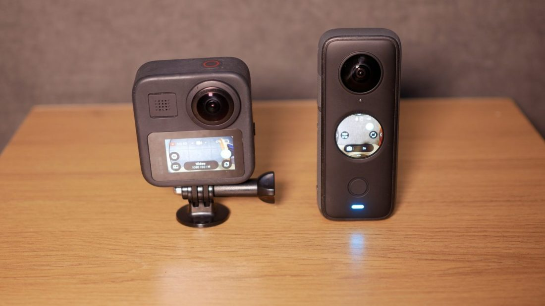 insta360 one x2 vs gopro max