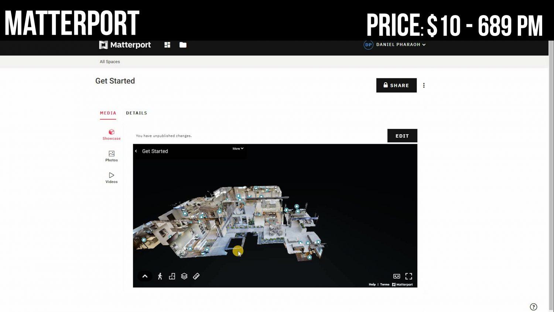 Matterport best virtual Tour software